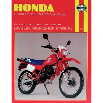 Haynes MANUAL HON XL/XR 80/100/125/185, 200cc 78-87