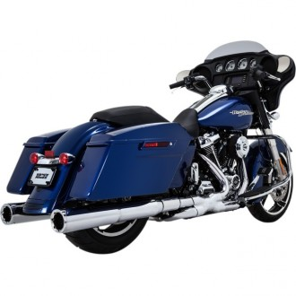 VANCE & HINES CHROME POWER DUALS...