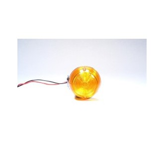 REAR TURN SIGNAL E-MARK AMBER