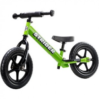 "Lime Green 12"" Sport Balance Bike"